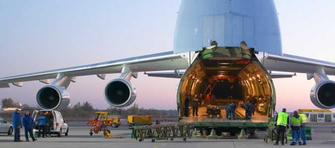 Air freight deliveries